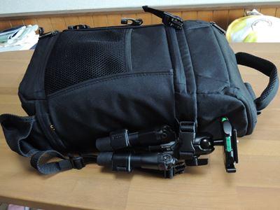 スリック ミニプロ7 N をAmazonスリングバッグにつけてみた