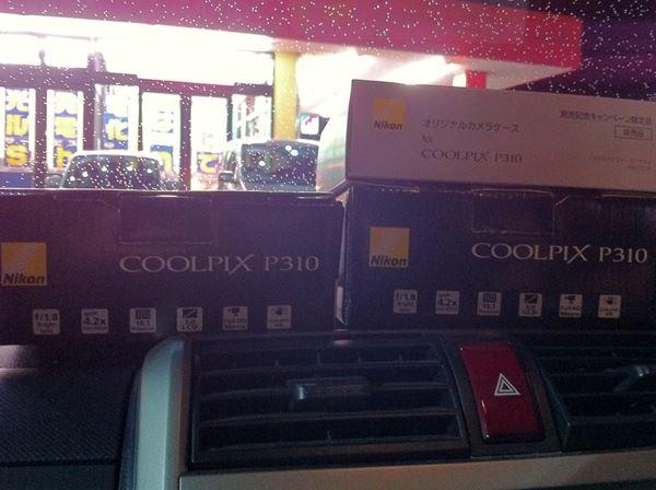 COOLPIX P310 2台