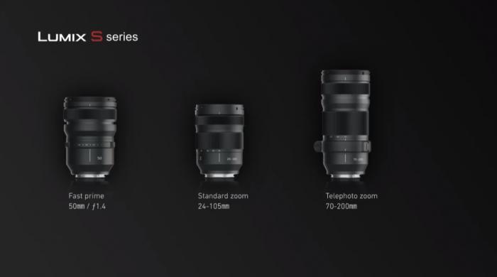 LUMIX S1シリーズ レンズ